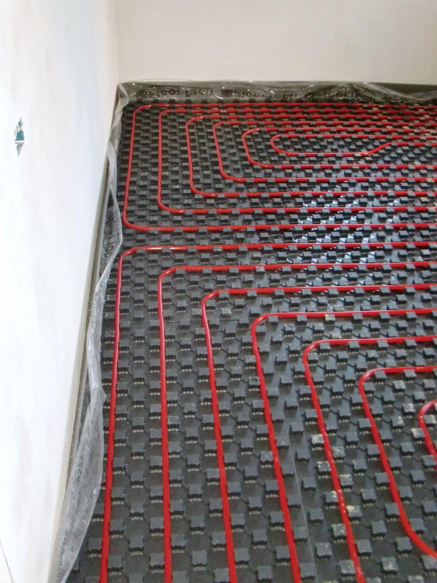 Ristrutturazione Riscaldamento A Pavimento impianto di riscaldamento a pavimento - studio giorgetti
